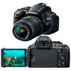 C�mera Digital Nikon DSLR D5100 16.2 MP + Tela LCD Girat�ria + V�deo Full HD
