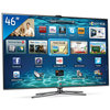 TV 3D LED 46'' Samsung Smart TV Interaction UN46ES7000G + Wi Fi+ 4 �culos 3D