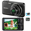 C�mera Digital Sony DSC-WX50 16.2 MP + Cart�o 8GB + Foto 3D + V�deos Full HD