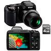 C�mera Digital Nikon Coolpix L810 16.1 MP Fotos 3D + V�deo em HD + Cart�o de 4GB