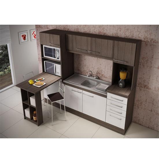 Cozinha Compacta Decibal Leticia 7 Portas 4 Gavetas  Colombo # Cozinha Compacta Civardi