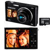 C�mera Digital Samsung DV300F Smart 16.1MP + WiFi + Foto Panor�mica + Cart�o 4GB