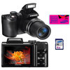 C�mera Digital Samsung WB100 16.2 MP Panor�mica + Fotos 3D + V�deo em HD + 4GB