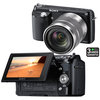C�mera Digital Sony NEX-F3B 16.1 MP + Foto Panor�mica 3D + Lente Intercambi�vel