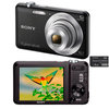 C�mera Digital Sony Cyber-Shot DSC-W710/B 16.1MP Panor�mica 360 + Cart�o de 4GB