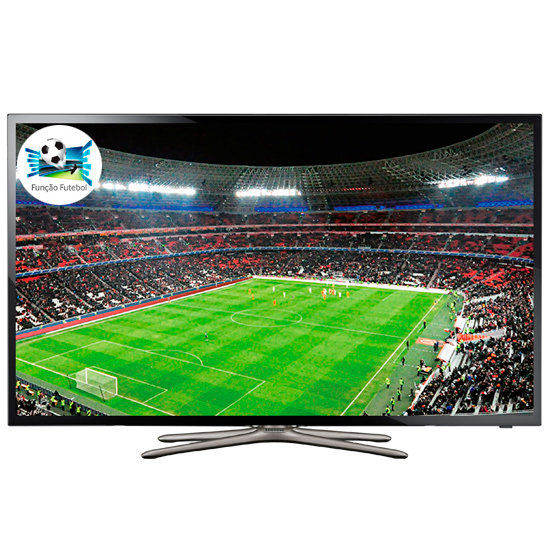 Smart TV LED 46 Samsung, Full HD, Wi-Fi, HDMI e Smart Hub - UN46F5500AGXZD