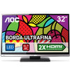TV LED 32'' AOC, HDTV, HDMI, USB e Conversor Digital - LE32D0330