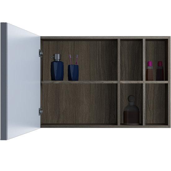Armário Aéreo para Banheiro com Espelho Itatiaia Maris  Colombo -> Armario De Banheiro Aereo Com Espelho