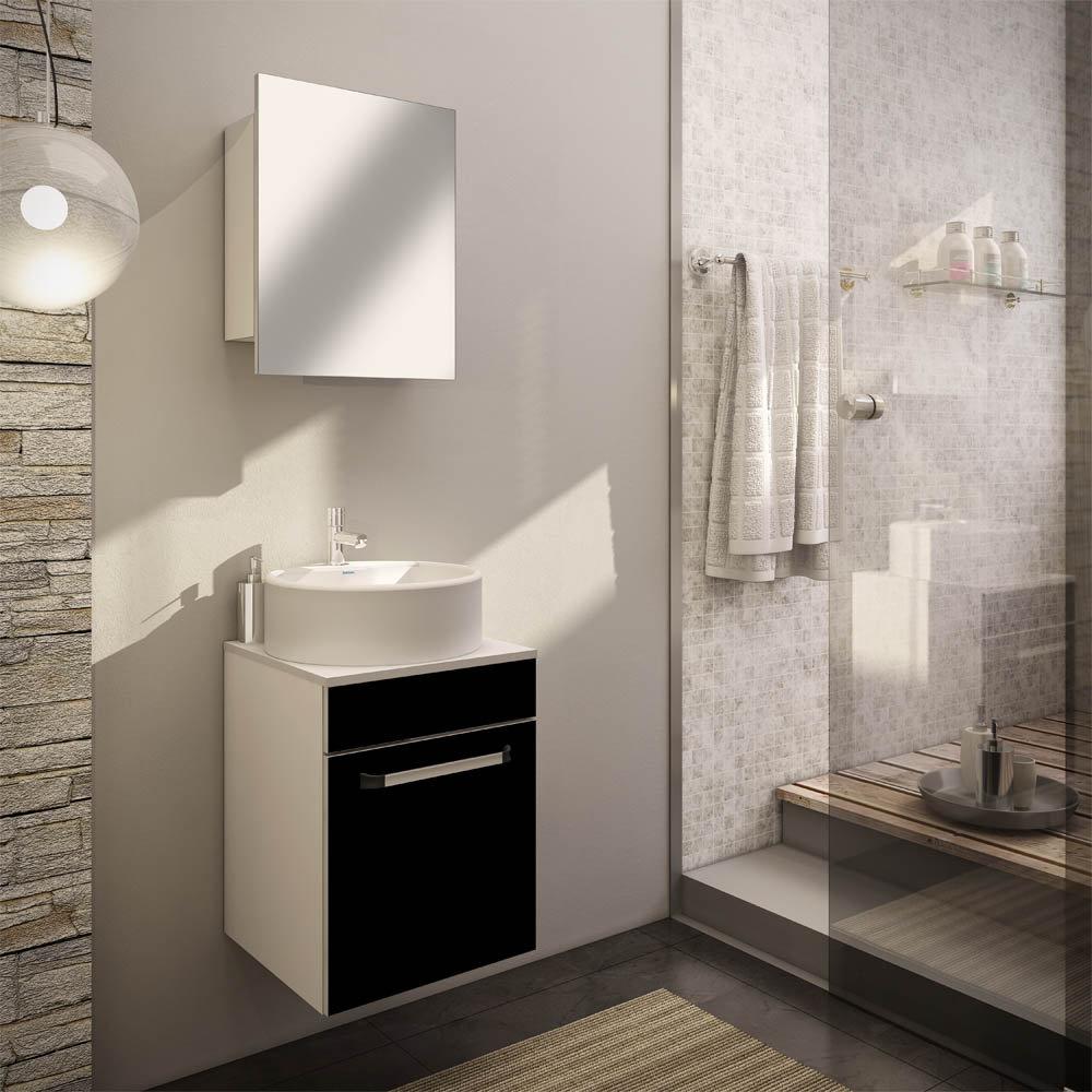 Balcão para Banheiro com Cuba Itatiaia Aura  Colombo -> Cuba Para Banheiro Com Balcao