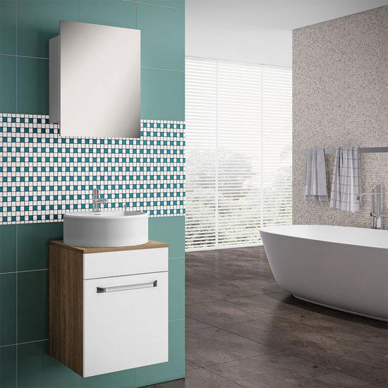 Armário Aéreo para Banheiro com Espelho Itatiaia Aura  Colombo -> Armario De Banheiro Aereo Com Espelho