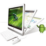 Desktop HP, All In One, Quad Core, 1GB RAM, 8GB eMMC,Android 4.2.2-Slate 21-K100