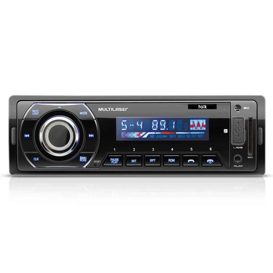 Som Automotivo Multilaser Talk com Bluetooth P3214