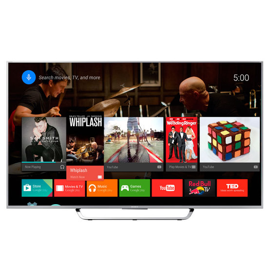 "Smart TV LED Sony 55, 3D, 4K, Android TV e 1 Ã""culos 3D – XBR-55X855C"