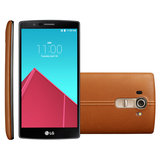 Smartphone LG G4, Android 5.0, 4G, 32GB, 3GB RAM, 16MP, Couro Marrom - H815