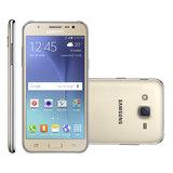 Smartphone Samsung Galaxy J5 Duos, 4G, Android 5.1, 16GB, 13MP, Dourado - J500M / DS