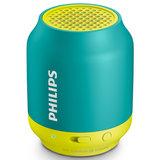Caixa de Som Portátil Philips, Verde / Amarelo - BT50AX / 78