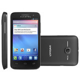 Smartphone Alcatel One Touch MPop Preto, 3G, Dual Chip, Android 4.1 - OT5020E