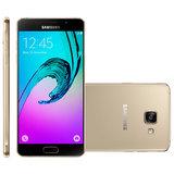 Smartphone Samsung Galaxy A5 Duos Dourado, 4G, 16GB, 13MP - A510M/DS