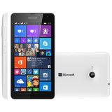 Smartphone Microsoft Lumia 535, Dual Chip, 3G, 8GB, 5MP, Branco