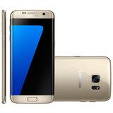 Smartphone Samsung Galaxy S7 Edge, 4G, 32GB, 12MP, Dourado - G935F
