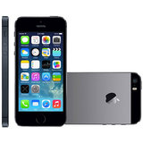 iPhone 5S Apple, 4G, 16GB, 8MP, Single Chip - Cinza Espacial