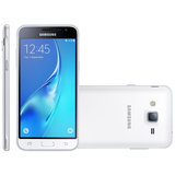 Smartphone Samsung Galaxy J3 Duos, 4G, 8GB, 8MP, Branco - J320M