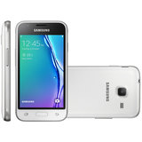 Smartphone Samsung Galaxy J1 Mini, Dual Chip, 8GB, 5MP, 3G, Branco - J105