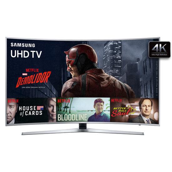 ultra hd tv led samsung 55 4k 3 hdmi 2 usb wi fi un55ku6500