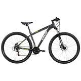 Bicicleta Masculina Caloi 29, Aro 29, 21 Velocidades, Cinza