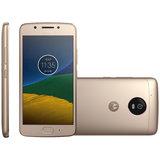 Smartphone Motorola Moto G5, 32GB, Dual, 13MP, 4G, Dourado - XT1672