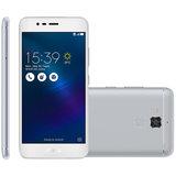 Smartphone Asus ZenFone 3 Max 5.2, 4G, 16GB, 13MP, Dual, Prata - ZC520TL