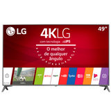 Ultra HD TV LED LG 49 Ultra Slim, 4K, DTV, 4 HDMI, 2 USB - 49UJ6565