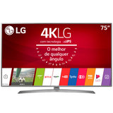 Ultra HD TV LED LG 75 ´ ´ Ultra Slim, 4K, DTV, 4 HDMI, 2 USB - 75UJ6585