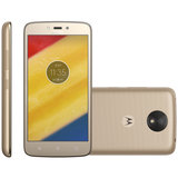 Smartphone Motorola Moto C Plus, 8GB, Dual, 8MP, 4G, Ouro - XT1726